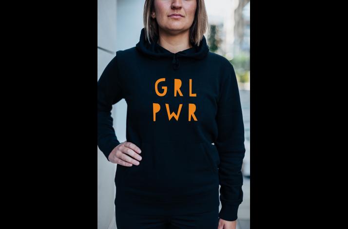 GRL PWR hettegenser
